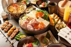 旬菜・炭焼き玉河のコース写真