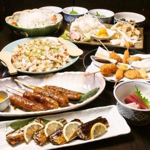 立川で宴会コースが充実の居酒屋【旬菜炭焼 玉河】