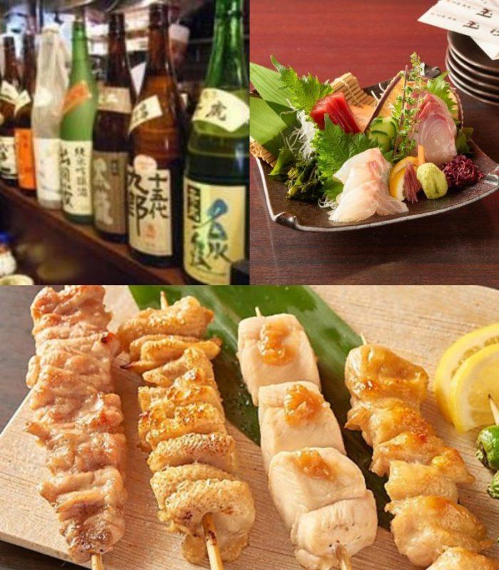 立川にある【旬菜炭焼 玉河】の日本酒メニュー