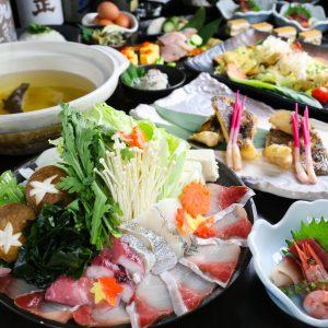 立川で新年会なら居酒屋「旬菜炭焼 玉河」